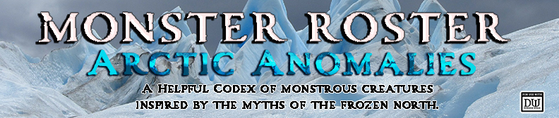 Monster Roster 2: Arctic Anomalies